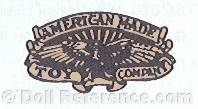 American Made Toy Company doll mark eagle symbol