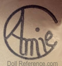 Amie C doll mark