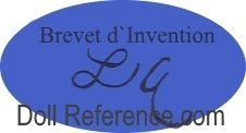 Louis Hubert Arnaud doll mark Brevet d'Invention L.A.