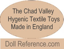 Chad Valley mark Hygienic Textile Toys Made in England