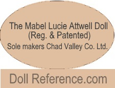 The Mabel Lucie Attwell Doll (Reg. & Patented) Sole Makers Chad Valley Co. LTD.