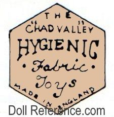 The Chad Valley, Hygienic Fabric Toys, Made in England
