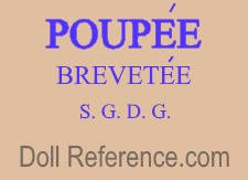 Pierre Clement doll mark Poupee Brevetee, S.G.D.G.