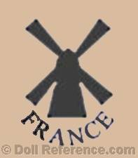 Convert doll mark windmill symbol France