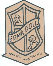 European Doll Mfg Co doll mark EDMA