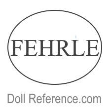 Fehrle two dimensional wood dolls mark