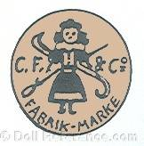 Carl Feiler doll mark C.F. & Co.