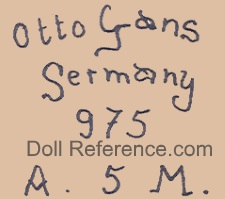 Otto Gans Germany 975 A. 5. M.