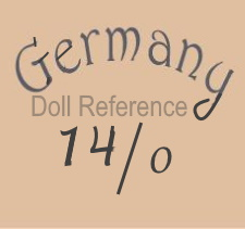 German doll mark Germany 14/0