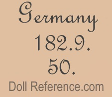 German doll mark Germany 182.9 50.