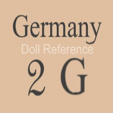 German doll mark Germany 2G