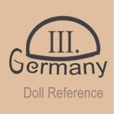German doll mark 111 inside oval Germany