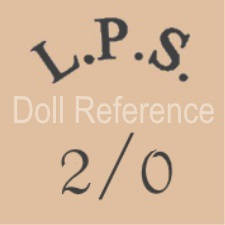 German doll mark LPS 2/0