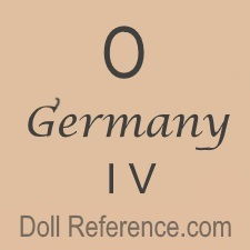 German doll mark 0 Germany IV