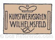 William Goebel trademark crown symbol Kunstwerkstaten Wilhelmsfeld WG