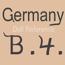 William Goebel doll mark Germany B4