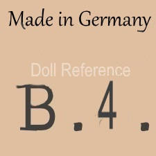 William Goebel doll mark Made in Germany B4