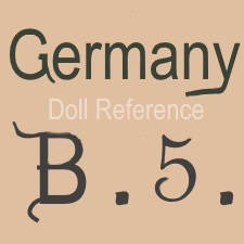 William Goebel doll mark Germany B5