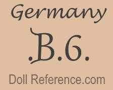 William Goebel doll mark Germany B6