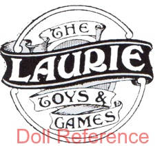 Laurie Hansen & Company doll mark The Laurie Toys & Games tag