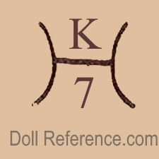 Karl Hartmann doll mark K H 7