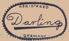 Irwin doll mark Registered Darling Germany
