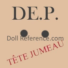 DEP doll mark Tete Jumeau