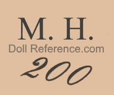 Marseille doll mark M.H. 200