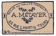 A. Métayer doll mark 22 Rue S. Martin Tours