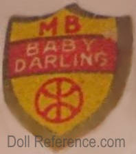 Morimura label doll mark MB Baby Darling