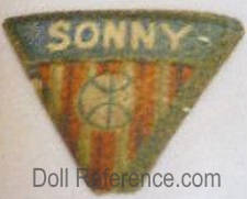 Morimura doll mark Sonny label