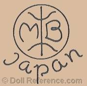 Morimura doll mark MB Japan