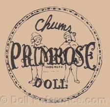 Primrose Doll Co doll mark label