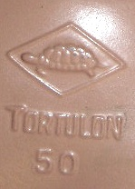 Rheinische Gummi Und Celluloid Fabrik Doll Mark Turtle Symbol Inside A Diamond Tortulon 50