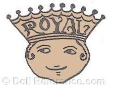 Royal Manufacturing doll mark