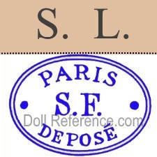 Louis Schneider et Fils doll mark S.L., Paris S.F. Depose