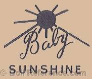 Sears doll mark Baby Sunshine