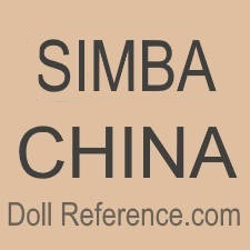 Simba Toys doll mark SIMBA China
