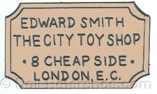 Edward Smith The City Toy Shop doll mark 8 Cheapside London F.C.