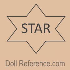 Star Doll Manufacturing Company doll mark star inside a star symbol