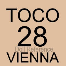 TOCO doll mark Vienna, Austria