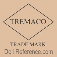 Treng Manufacturing Company doll mark TREMACO