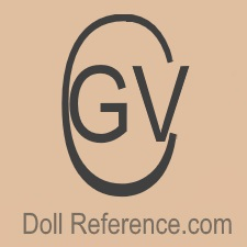 Gertrud Closs Vogel doll mark GVC