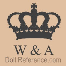 Wagner & Apel Porzellanfabrik doll mark crown symbol W & A