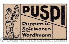 H. Wordtmann doll mark PUSPI