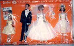 1017 Barbie's Wedding Party set 1964-1965