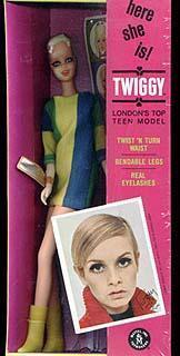 1185 Twiggy Twist n Turn doll 1967-1968