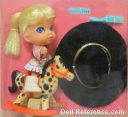 Mattel 3506 Little Kiddle Calamity Jiddle doll 1966-1967