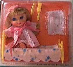 Mattel Little Kiddle 3548 Beddy-Bye Biddle doll