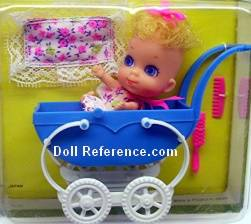 Mattel Little Kiddle 3587 Baby Liddle doll 1968